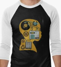 J dilla dj Men's Baseball ¾ T-Shirt