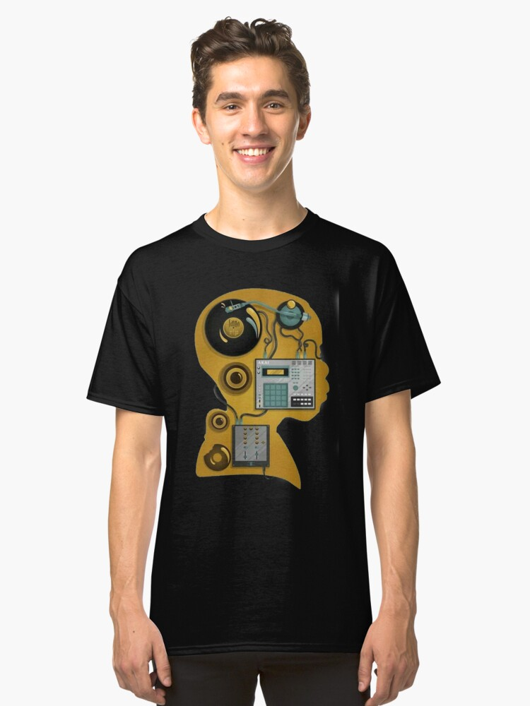 J dilla dj Classic T-Shirt Front