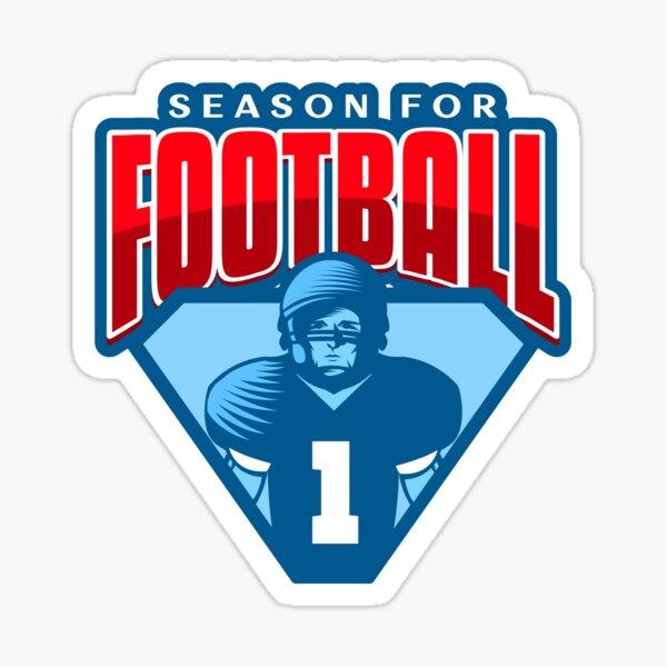 Season for Football Sticker