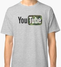 YouTube Camouflage Logo Classic T-Shirt