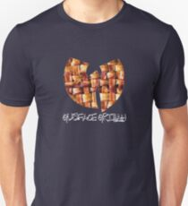 Da Mystery of Chest Bacon (white print) Unisex T-Shirt