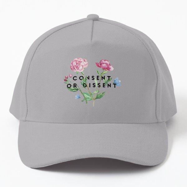 Consent or Dissent Sprig Baseball Cap