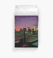 A Night on the Town Duvet Cover