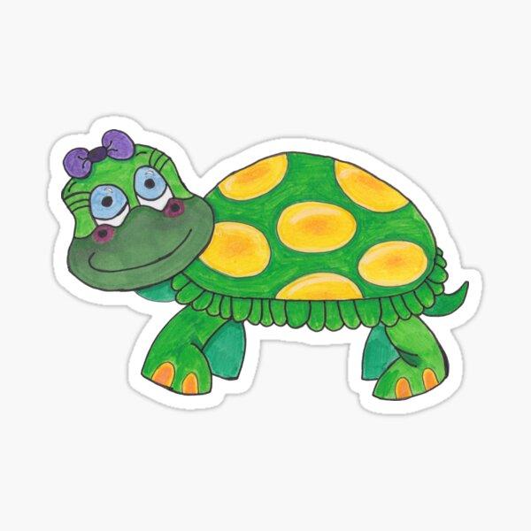 Tammy the Turtle Sticker
