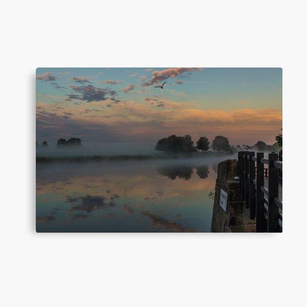 Trent Lock Erawash Canal Canvas Print