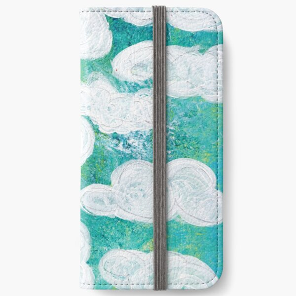 Clouds iPhone Wallet