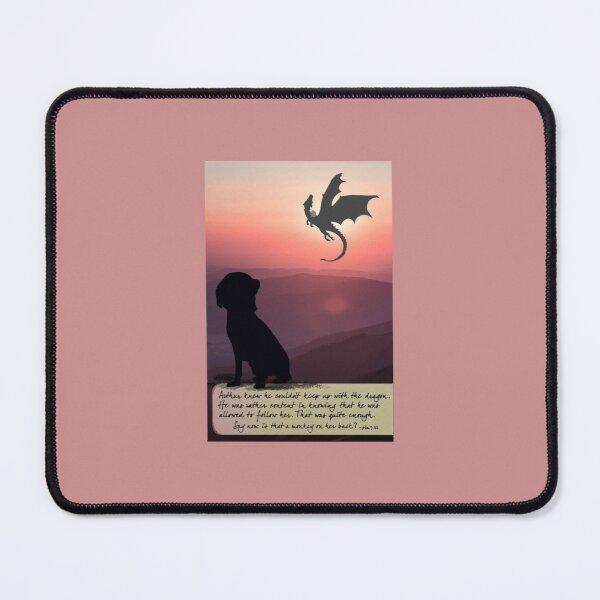 Following the Dragon Mouse Pad