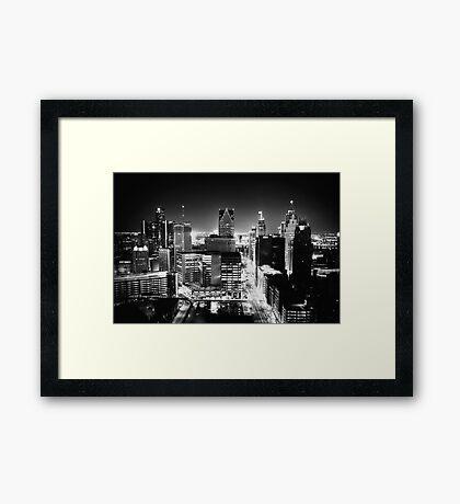 Detroit: Paris of the Midwest Framed Print