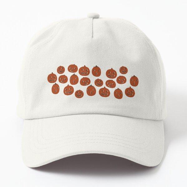 Halloween Pumpkin Pattern Dad Hat