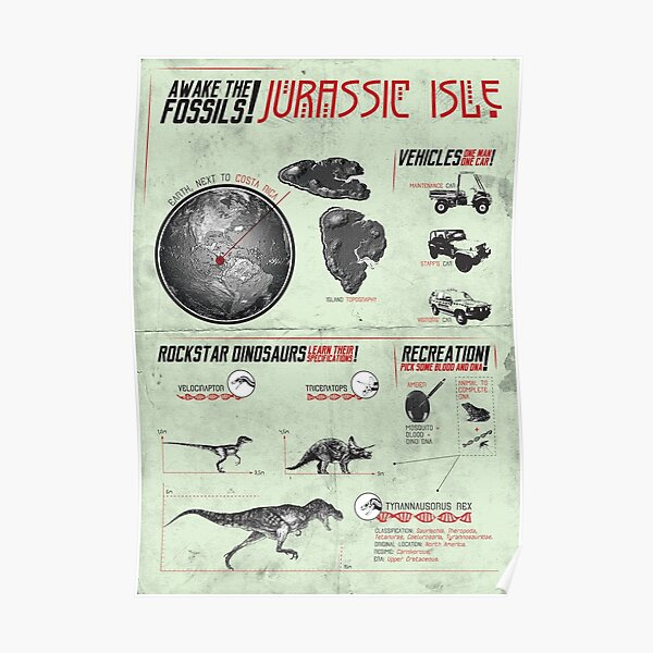 [SF MOVIES!] Jurassic Park Poster