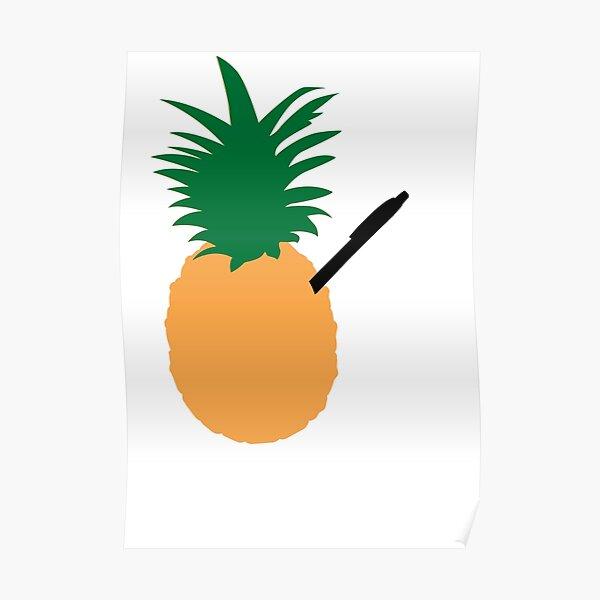 PPAP - Pineapple Pen Poster