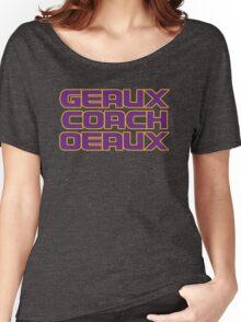 Geaux Coach Oeaux - LSU Tigers Fan Shirt Women's Relaxed Fit T-Shirt