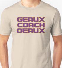 Geaux Coach Oeaux - LSU Tigers Fan Shirt T-Shirt
