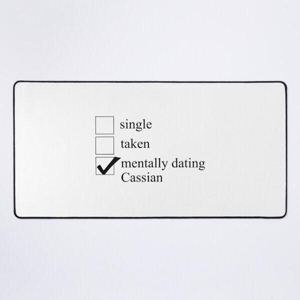 Mentally Dating Cassian Desk Mat