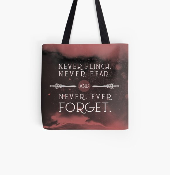 Nevernight - Never Forget All Over Print Tote Bag