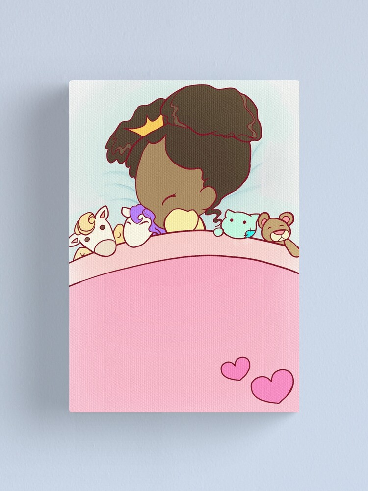 Alternate view of Lil´ Princess sweet dreams Canvas Print