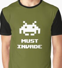 Must Invade Graphic T-Shirt