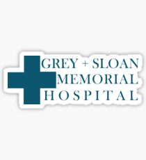 Grey Sloan Memorial Hospital Sticker