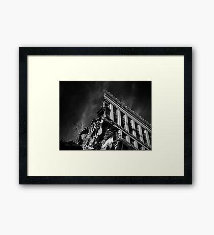 Corner Office Framed Print