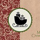 Elegante rustikale Frohe Weihnachten von RumourHasIt