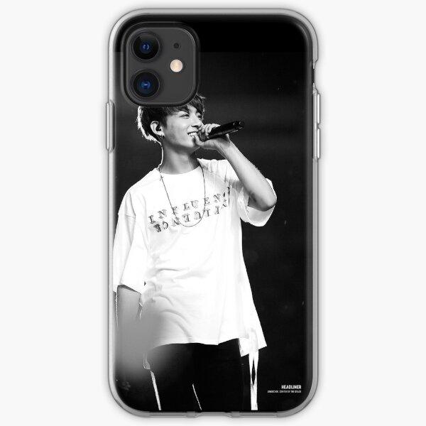 JK in Black £ White  iPhone Soft Case