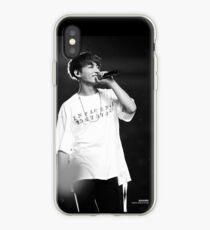 JK in Black £ White  iPhone Case