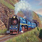 Trans-Siberian express. by Mike Jeffries