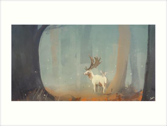 Deer by strijkdesign