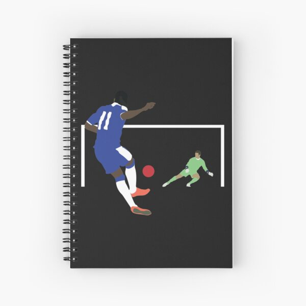 Didier Drogba  Spiral Notebook