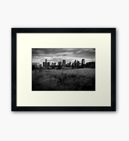 Brush Park, Detroit Framed Print