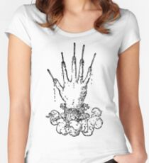 Devises Héroïques - The Hand Of Glory (black) Women's Fitted Scoop T-Shirt
