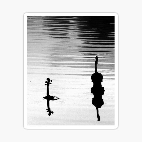 Submerged Strings Sticker