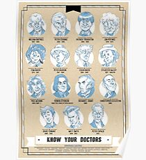 Know Your Doctors Poster