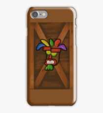 Aku Aku Mask Box iPhone Case/Skin