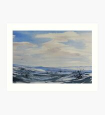 Winter Wilds Art Print