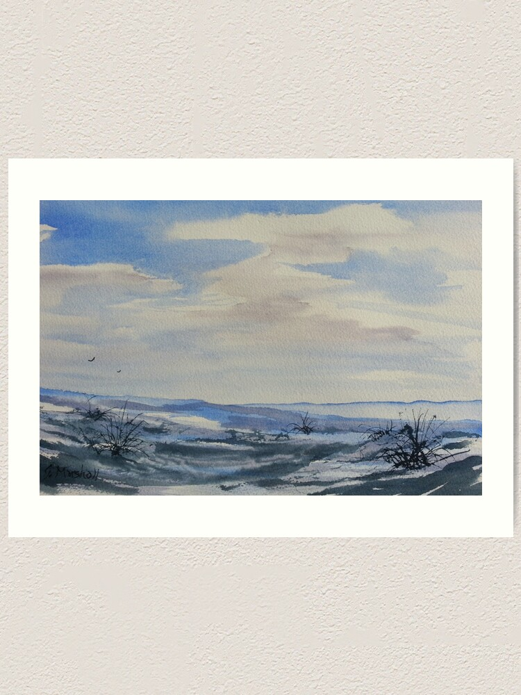 Alternate view of Winter Wilds Art Print