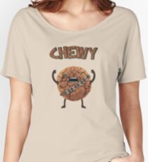Chewy Chocolate Cookie Wookiee Women's Relaxed Fit T-Shirt
