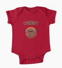 Chewy Chocolate Cookie Wookiee One Piece - Short Sleeve