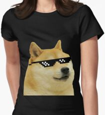 DOGE Women's Fitted T-Shirt
