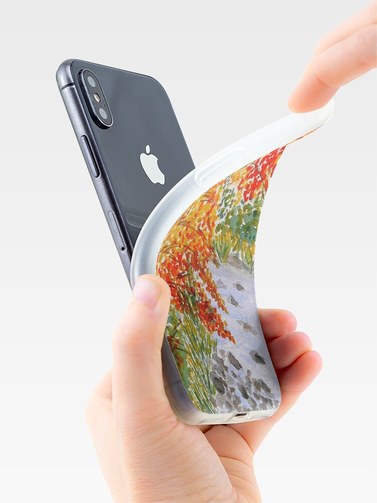 Alternate view of Fall Leaves iPhone Case & Cover