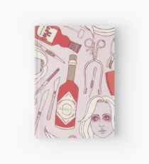hot sauce + dissection tools (izombie) Hardcover Journal