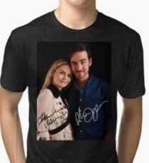 Colin & Jennifer - Once Upon A Time Tri-blend T-Shirt