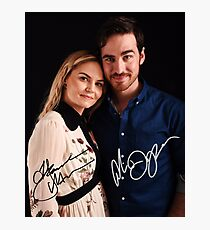 Colin & Jennifer - Once Upon A Time Photographic Print