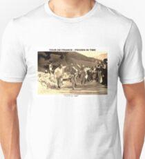 TOUR DE FRANCE; Vintage Frozen in Time Advertising Photo Unisex T-Shirt