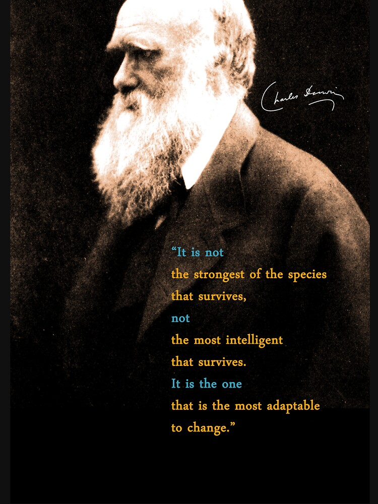 Charles Darwin Quote 3 by pahleeloola