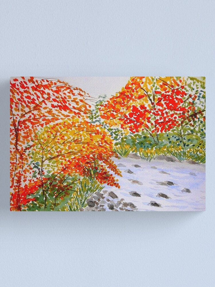 Alternate view of Fall Leaves Canvas Print