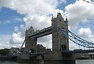 Tower Bridge London by ValeriesGallery