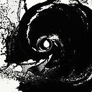 Whirlpool Of Black by Printpix