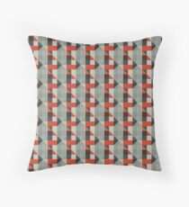 Underground Moquette Piccadilly Throw Pillow