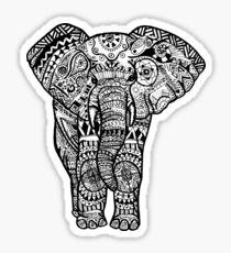 Tribal Elephant Sticker